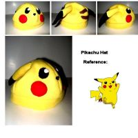 Pikachu Hat by nikkiswimmer