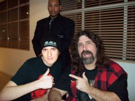 Me meeting Mick Foley by Paynexkiller