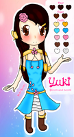 Yuki - Reference Sheet by Yuki-Bunni