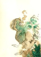 The Moss Lady by emera