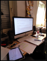 My Workspace ... again :D by Xe4ro