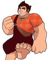 WRECK-IT RALPH (EDITED) by rhimes1999
