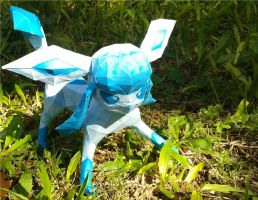 A wild Glaceon appears! #2 by Vickawaii