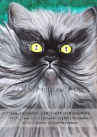 Colonel Meow - Cats with Moustaches by Lilith413