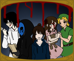 Alice Human Sacrifice - CreepyPasta Crossover by La-Mishi-Mish
