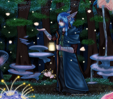 Night in the Forest by Innuo