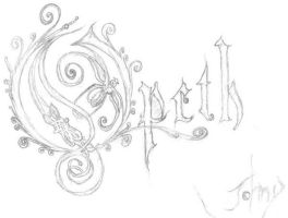 OPETH'S LOGO by voyagerartworkdesign