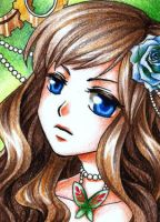 Kakao/ACEO: Roses by leinef