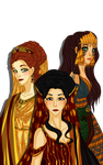 The Queens and the Duchess by Lounabis