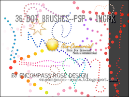 RBF_Dot Brushes by rosebfischer