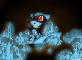 Riolu by AnarchicalMalkin