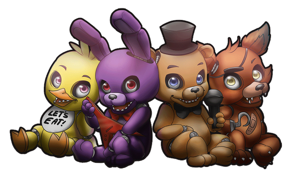 Five Nights at Freddy's by pikadiana