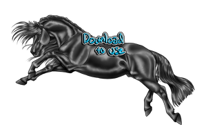 Equine Grayscale - Download to use by ShapeShifter314