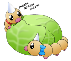 HPM: Weedle Lunch by Kimerasaurus