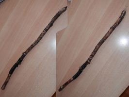 Wiccan Wand by dracontologe