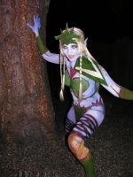 Witch Elf Bodypaint by Fillabula
