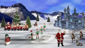 Christmas Northpole by Frankief