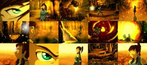 Animation Korra in the Spiritual World Screens by SolKorra