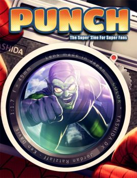 Punch 3 Cover by kendaviscartoons