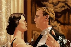 Mathew and Mary Crawley Dancing by PharMafia-Soldier