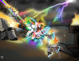 TF2 Rainbow Wolf Fury Attack by Lightning-Bliss