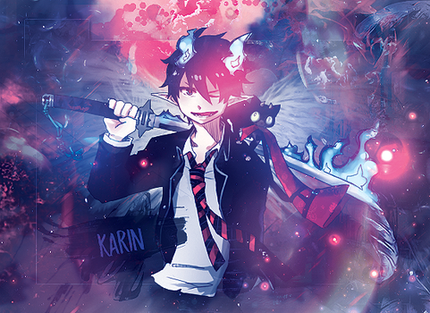 Ao No Exorcist 2 by xKarinchi