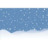 beautiful snow landscape background vector by cgvector