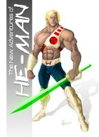 New Adventures of He-man by GavinMichelli