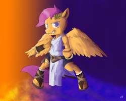 Kid Scootaloo by WandererEclipse