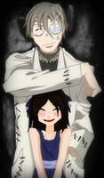 Soul Eater-Stein and Little Lacie by TFAfangirl14