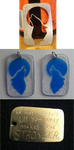 Dog Tags - Blue Wolf, Metal Wolf, and Metal Motto by QuirkyBrainiac