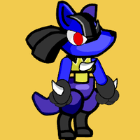 Scirbblenauts unlimited lucario by toamac