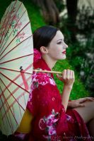 Geisha girl by CHarrisPhotography