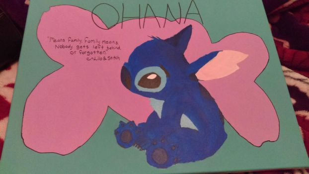 Stitch Project Completed by Ayame-Chan90