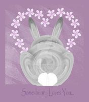 Some-Bunny Loves you.... by rockgem