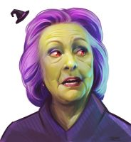 Witchy Clinton by stutte