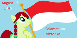 Indonesia Independence Day [17 August 1945] by Appimena
