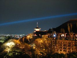 Kiyomizu-dera at night 1 by Valka