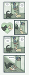 Cats vs Corgis by kozispoon