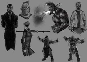 The Bad Guys by slaine69