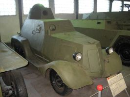 Exp. light armored car BA-21 by MADMAX6391