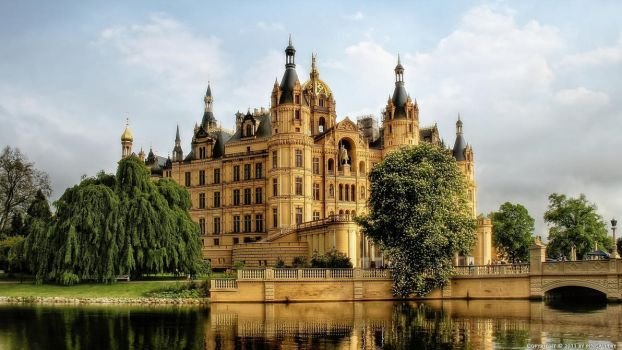 Germany - Schwerin Castle by pingallery
