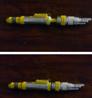 The Master's Laser Screwdriver Replica: Doctor Who by TheNerdArmory