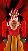 Renewed SSJ4 Rage Art by RageVX