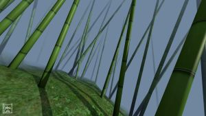 Blender - Bamboo 02 by Ludo38