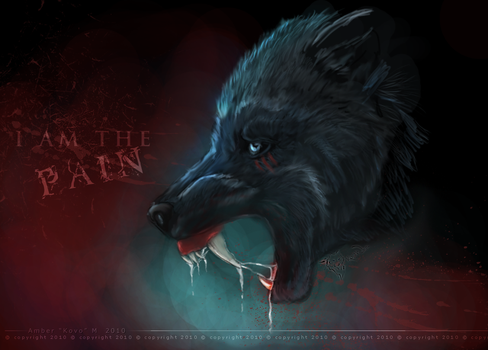 I Am The Pain by KovoWolf