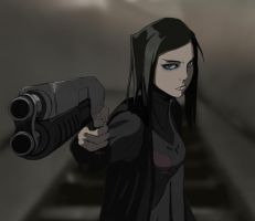 Re-l Mayer - Ergo Proxy by Diffidentia