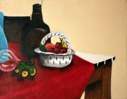 Still Life Painting 1 by ajzeller