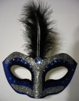 Dib ~ Masquerade Mask by SapphireSoul102