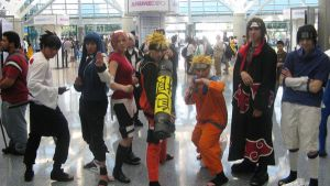 Naruto Group by ChrisXLee